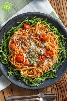 Pasta All Amatriciana, I Love Food, Good Food, Hello Fresh Recipes, Dinner Is Served, Food Design, Food Inspiration, Healthy Recipes, Cooking