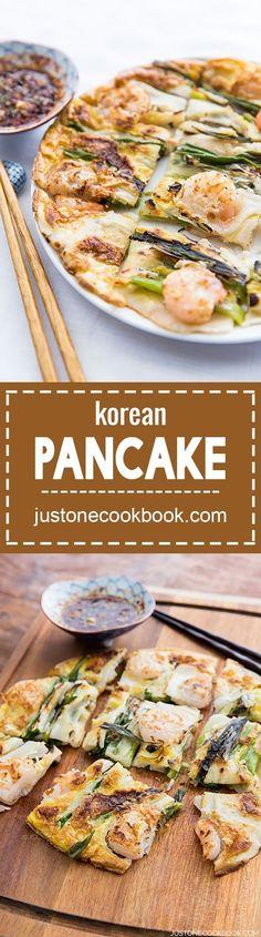 Korean Pancake   Easy Japanese Recipes at