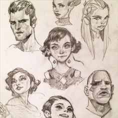 #sketching #faces