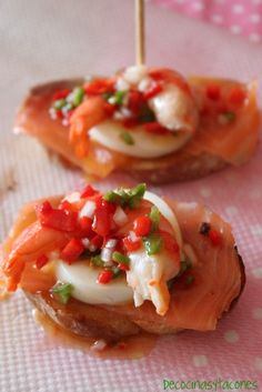 Shrimp, Smoked Salmon and Egg Pintxo (Tapa) | Tasty Kitchen: A Happy Recipe Community!