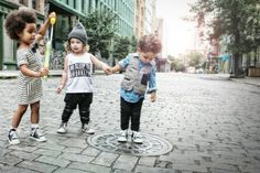 Brooklyn based children's clothing line.