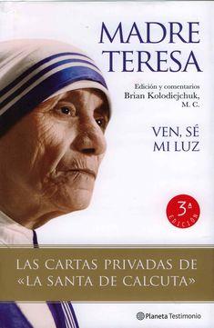 las cartas intimas de la Madre Teresa, vemos aqui un libro exquisito de las confesiones de una mujer de Dios expresando sus conflictos mas profundos. Un libro que te eleva a otro nivel de entendimiento, una vision muy superior de una alma elevada.