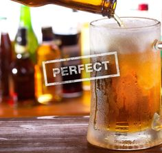 Here's how you pour the perfect beer, according to science  Published on 1/27/2014  By Kristin Hunt   Watch this Head Squeeze science magician break down the chemical mysteries behind your brew, and you'll be enjoying perfectly poured beers in no time.