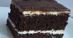 ciasto czekoladowe przełożone serem, deser z białym serem, wypieki na święta, przepis na pyszne ciasto czekoladowe, masa serowa do ciasta, idealna polewa czekoladowa,
