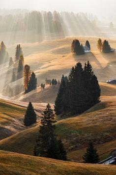 "wonderous-world: "" The Dolomites, Italy by Martin Rak """