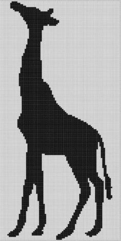 Giraffe 4 Cross Stitch Pattern