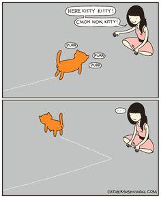 Ven con mamá, gatito