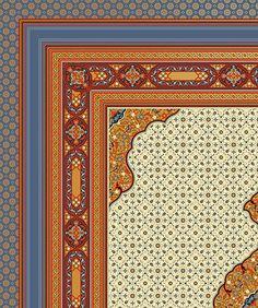 Victorian Persian roomset wallpaper detail from Bradbury & Bradbury