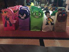 Teen titans go party bags