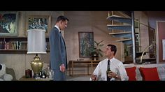 Brad's bachelor pad - Pillow Talk, 1959
