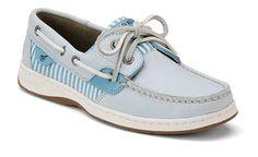 Light blue sperrys