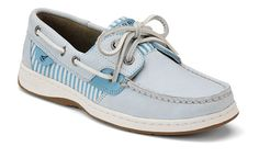 Light blue sperrys