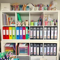 I'm feeling inspired to organize after seeing beautiful office space! I especially love those binder covers! Teacher Organisation, Teacher Office, Organization, Teacher Hacks, Teacher Stuff, Classroom Setup, Classroom Design, Future Classroom, Office Cube