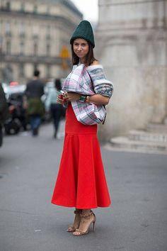 Natasha Goldenberg in Stella McCartney sweater and Dior shoes
