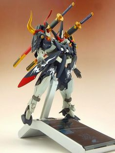 Custom Build: 1/144 Blade GN-X Orochi - Gundam Kits Collection News and Reviews