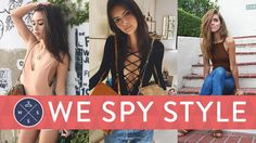 We Spy: Is This the Sexiest Summer Trend Ever?: This week on We Spy Style, fashi. - g-fashionideas. Summer Fashion Trends, Summer Trends, Summer Outfits, Cute Outfits, Formal Dresses For Women, Stunning Women, Couture Fashion, Paris Fashion, Fashion Sewing