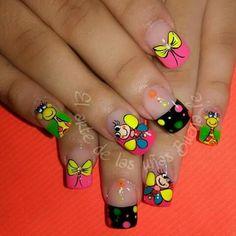 Magic Nails, Cute Nail Designs, French Nails, Cute Nails, Nail Art, Candy, Snails, Color Azul, Boss Babe