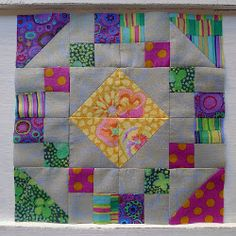 Victorian Jewel Box Block. Sales as Connies 4 squares and a half