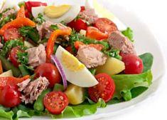 10 vinagretas saludables para tus ensaladas - Adelgazar en casa Lose Weight At Home, Sauce Recipes, Cobb Salad, Salads, Low Carb, Beef, Health, Chicken, Food