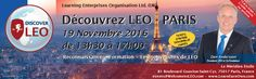 Dan Andersson will be presenting Discover LEO Paris on 19 November.