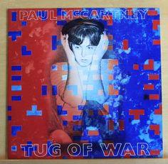 PAUL MC CARTNEY Tug of War Vinyl LP The Beatles Ebony and Ivory Get it Top RARE