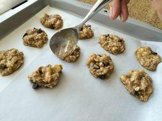 Food To Be Fit: Choco-Nana Oatmeal Cookies