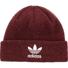adidas Originals Men s Trefoil II Knit Beanie d21ea671c59