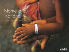 """UNICEF poster cicra 1999 - Part of the """"Convention... 