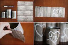 @Alissa Massey  cute, cheap decor ideas for the wedding!