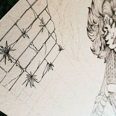 """""""Gloire"""" serie - Tiger  Tiger Queen finally sees her castle growing after a lot of tests ! --- La Reine Tigresse voit enfin son palais se construire après bien des tests !  #drawing #illustration #wip #ink Support my work on #Patreon : http://ift.tt/1RqclZE"""