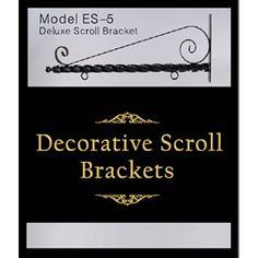 Decorative Scroll Brackets