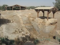 The ruins of the Church of John the Baptist.