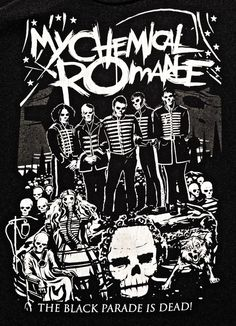 My Chemical Romance - The Black Parade Is Dead- I have this shirt I like it it's real comfy!