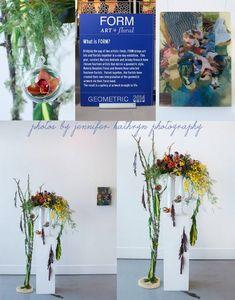 FORM Event Chicago | Floral Art Show | Naperville Event Florist flowers by kiokreations