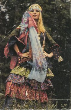 Brigitte Bardot dressed by Jean Bouquin 1969