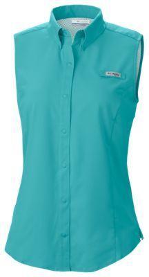 Columbia Tamiami Sleeveless Shirt for Ladies - Miami - XS