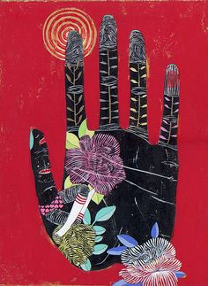 The hand cannot reach higher than does the heart. ~ Orison Swett Marden  // Artwork by nejjiferdavis, via Flickr