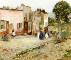 The Athenaeum - Confirmation Day (Frederick Childe Hassam - )