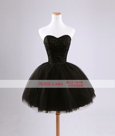 Sale new black lace beading strap style dinner party dress puff short skirt evening dresses-inEvening Dresses from Weddings & Events on Aliexpress.com | Alibaba Group