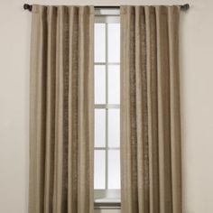 Malta Rod Pocket/Back Tab Window Curtain Panel - Bed Bath and Beyond $54