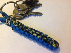 Keychain made from paracord