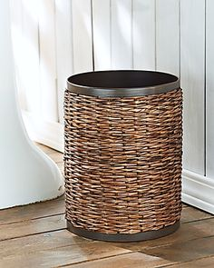 Tommy Bahama Retreat Wicker Tissue Box Cover Bathroom