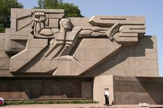Soviet War Memorial Architecture, Sevastopol by rtw2007, via Flickr