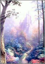 The Castle from Snow White -  Art by Thomas Kinkade