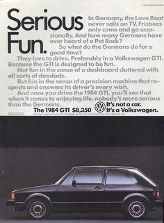 Cars Of A Lifetime: 1984 Volkswagen Rabbit GTI -The Black Death