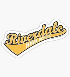 Riverdale Highschool Design Sticker