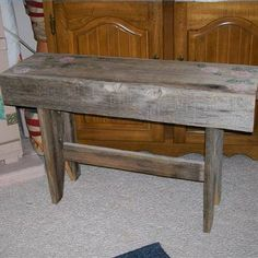 Build A Backless Bench