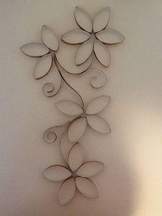 Toilet paper roll wall art by toni