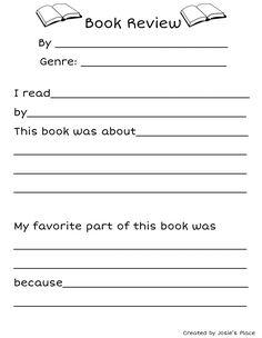 Book Review Template on Pinterest | Book Reviews, Students and Reading ...