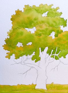The Painted Prism: 5 WATERCOLOR TECHNIQUES for TREES